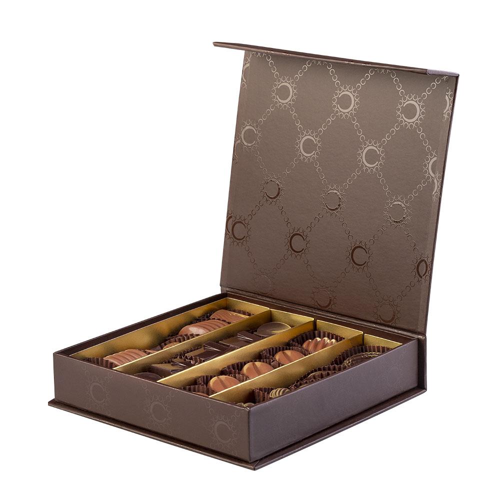 Confezione Selinunte di Color Cioccolato - 20 cioccolatini artigianali- Reggio Calabria