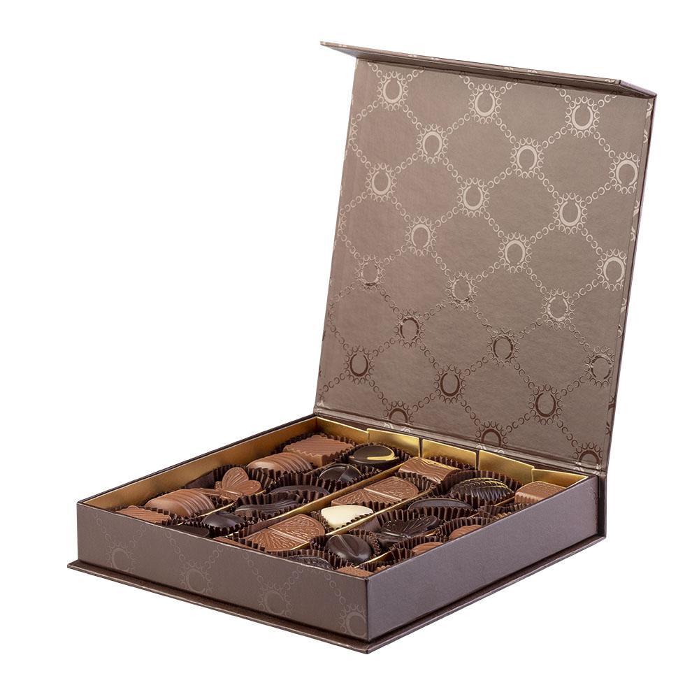 Confezione Ortigia di Color Cioccolato - 27 cioccolatini artigianali- Reggio Calabria