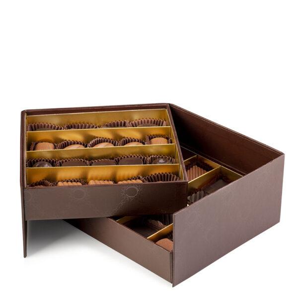 Confezione Siracusa di Color Cioccolato - 37 cioccolatini artigianali- Reggio Calabria
