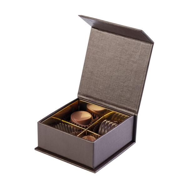 Confezione Gerace di Color Cioccolato - 4 cioccolatini artigianali- Reggio Calabria