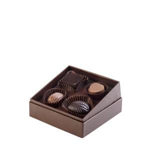 Confezione Locri di Color Cioccolato - 4 cioccolatini artigianali- Reggio Calabria