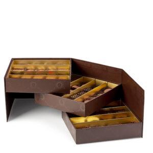 Confezione Squillace di Color Cioccolato - confezione da 57 cioccolatini artigianali