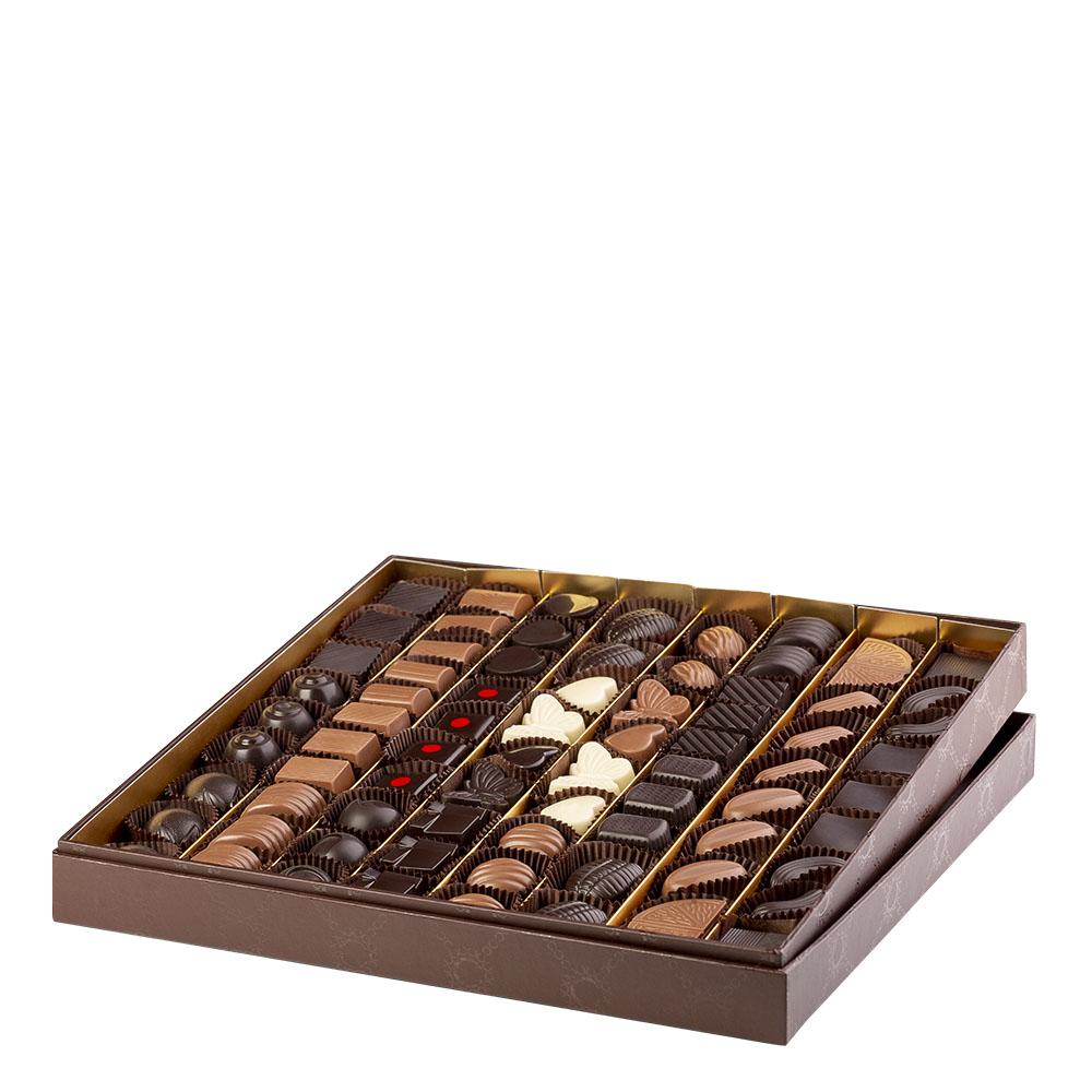 Confezione Crotone di Color Cioccolato - confezione da 75 cioccolatini artigianali