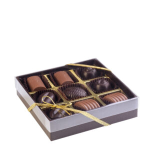 Confezione Caulonia di Color Cioccolato - 9 cioccolatini artigianali- Reggio Calabria